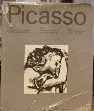 Picasso, Volume I: Catalogue of the printed graphic work 1904-1967. George Bloch