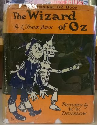 The Wizard of Oz. L. Frank Baum.