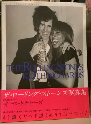 The Rolling Stones featuring Keith Richards. Bob Gruen