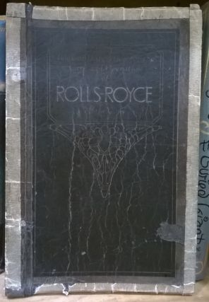 Book of Instruction for the Care and Operation of Rolls-Royce Motor Cars. Rolls-Royce