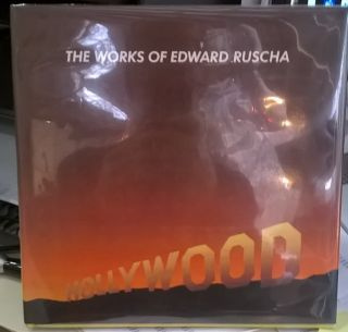 The Works of Edward Ruscha. Edward Ruscha, Dave Hickey, Peter Plagens, Anne Livet.
