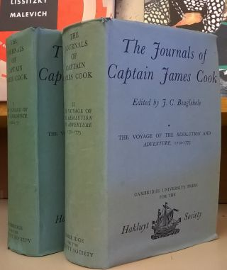 The Journals of Captain James Cook, 2 vol. James Cook, J. C. Beaglehole