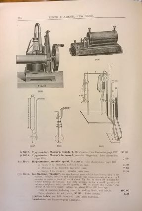 1905 Illustrated Catalogue of Chemical Apparatus, Assay Goods and Laboratory Supplies