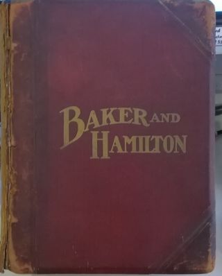 Baker & Hamilton, Catalogue No. 75. Baker, Hamilton
