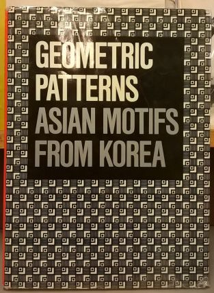Geometric Pattern: Asian Motifs from Korea. Ahn Sang-soo