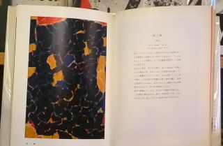 Exhibition on the work of Sam Francis (Japanese)