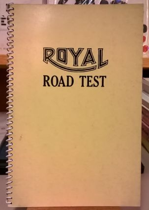 Royal Road Test. Edward Ruscha, Mason Williams, Patrick Blackwell
