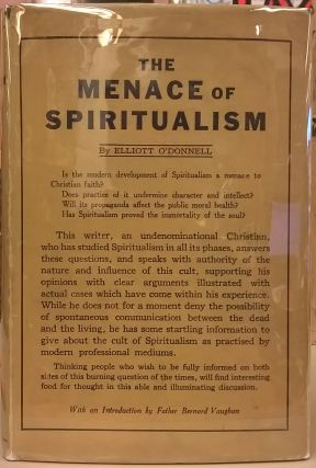 The Menace of Spiritualism. Elliott O'Donnell