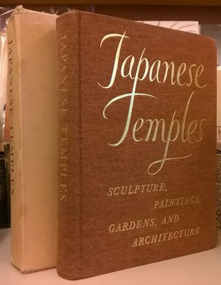 Japanese Temples: Sculpture, Paintings, Gardens, and Architecture. J. Edward Kidder