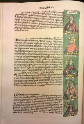 chronicle of the world 1493: The complete and annotated Nuremburg Chronicle
