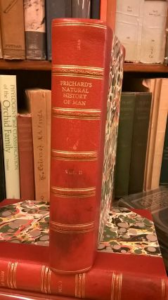 The Natural History of Man (Two Volumes). James Cowles Prichard