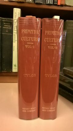 Primitive Culture (Two Volume). Edward B. Tylor