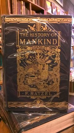 The History of Mankind (Three Volumes). Friedrich Ratzel