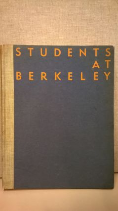 Students At Berkeley: A Study of Their Extracurricular Activities With Suggestions For...