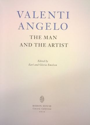 Valenti Angelo: The Man and the Artist