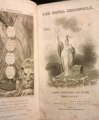 The Naval Chronicle, Volume 1, from January to June 1799