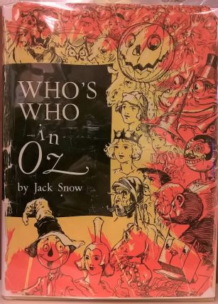 Who's Who in Oz. Jack Snow
