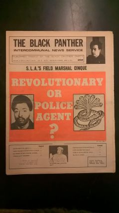 The Black Panther: Intercommunal News Service Vol XI, No 16 (April 13, 1974). Huey P. Newton