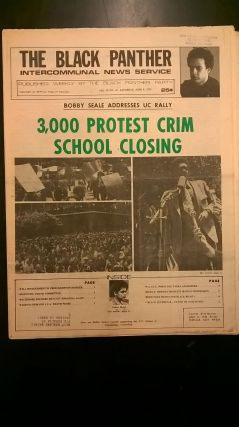The Black Panther: Intercommunal News Service- Vol XI, No 24 (June 8, 1974). Huey P. Newton