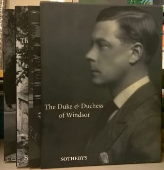Sotheby's Sale 7000: The Duke and Duchess of Windsor, September 11-19, 1997. Sotheby's