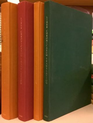 Liber Chronicarum Translation, 4 volumes. Selim S. Nahas