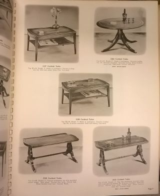 Imperial Tables: Traditional, French Provincial, Modern