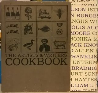 The Artists' & Writers' Cookbook. Beryl Barr, Barbara Turner Sachs