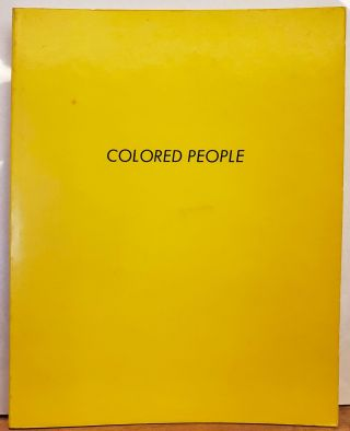 Colored People. Edward Ruscha