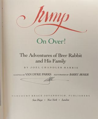 Jump On Over! The Adventures of Brer Rabbit and His Family