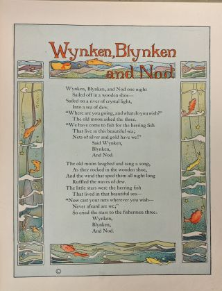Wynken Blynken and Nod and Other Verses by Eugene Field