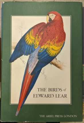 The Birds of Edward Lear: A Selection of the 12 Finest Bird Plates of the Artist. Edward Lear,...