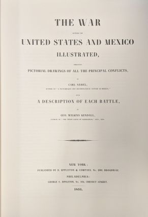 The War Between the United States and Mexico Illustrated