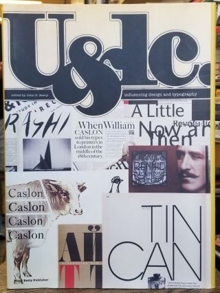 U & lc: Influencing Design and Typography. John D. Berry