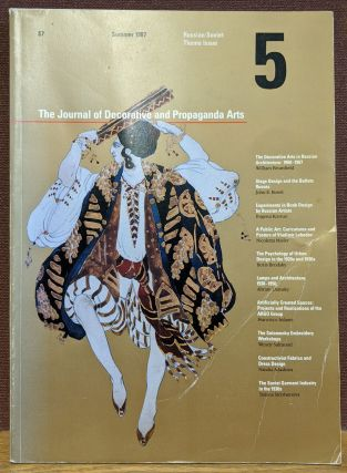 The Journal of Decorative and Propaganda Arts #5, Summer 1987. Pamela Johnson