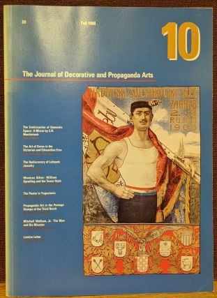 The Journal of Decorative and Propaganda Arts #10, Fall 1988. Pamela Johnson