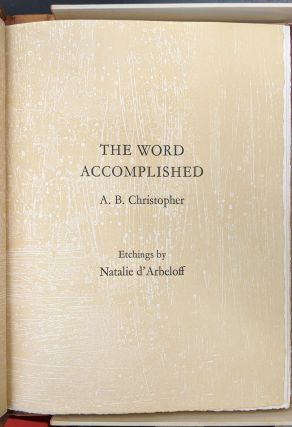 The Word Accomplished (229)