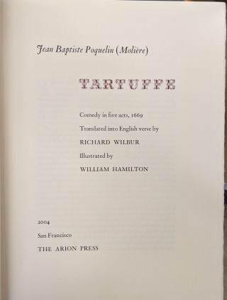 Tartuffe, A Comedy in Five Acts, 1669 (236)