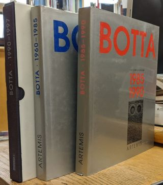 Botta: the Complete Works, 3 vol. Emilio Pizzi, Mario Botta