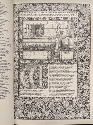 The Works of Geoffrey Chaucer: A Facsimile of the William Morris Kelmscott Chaucer