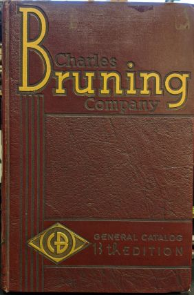 13th Edition General Catalog Charles Bruning Company, Inc. Charles Bruning Company