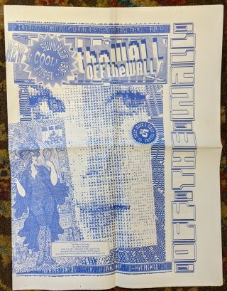 Off The Wall (Issues 1 - 5) The Newsletter/Journal about Events Posters & The Arts of Happenings