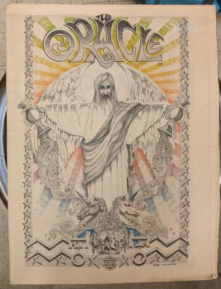 The San Francisco Oracle, vol. 1, no. 6. Ron Thelin