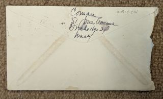 Typed letter, signed by Cid Corman