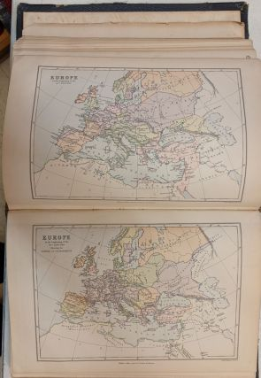 The Library Atlas, consisting of One Hundred Maps of Modern, Historical, and Classical Geography
