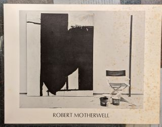 Invitation card to Robert Motherwell exhibition at Knoedler Contemtorary Art