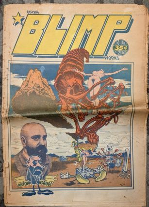Gothic Blimp Works, Robt. Williams cover. Berni Wrightson, Kim Deitch, Robt Williams