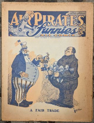 Air Pirates Funnies, Vol.1, No. 1. Bobby London, Shary Flenniken, Dan O'Niell
