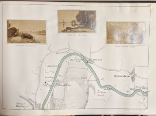 A New Map of the River Thames from Oxford to London...