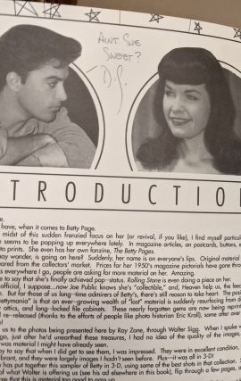 The Betty Page 3-D Picture Books